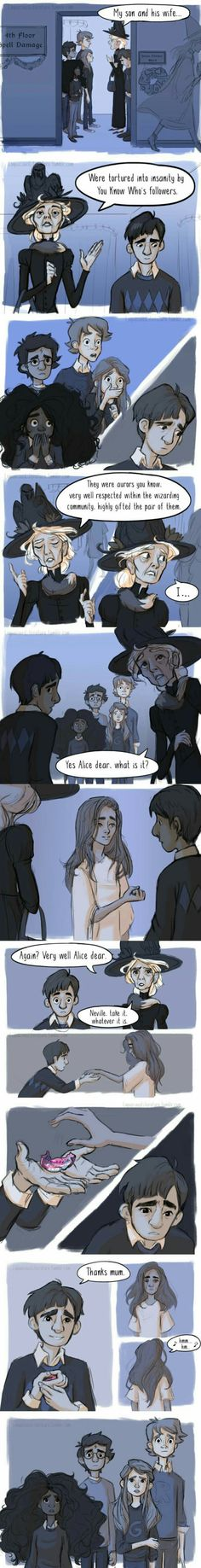 Who read Harry Potter and the Order of Phoenix will understand... oh, the feels - Comic & Webtoon