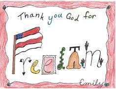 """Thank You"" Drawings 