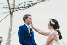 Sweet ceremony moment captured by Van Middleton