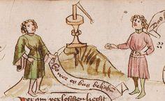 Wolfenbüttel, Herzog August Bibliothek,  Thomasin <Circlaere>   Welscher Gast (W) — Süddeutschland, 3. Viertel des 15. Jhs. Cod. Guelf. 37.19 Aug. 2° Folio 22r