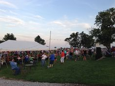 Ardon Creek Vineyard and Winery, Independence, Iowa   Dancing at Summer Music Events