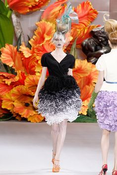 See the complete Christian Dior Fall 2010 Couture collection.