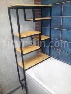 Стеллаж для ванной комнаты Stillage loft Bookcase, Bathtub, Shelves, Bathroom, Home Decor, Standing Bath, Washroom, Bathtubs, Shelving