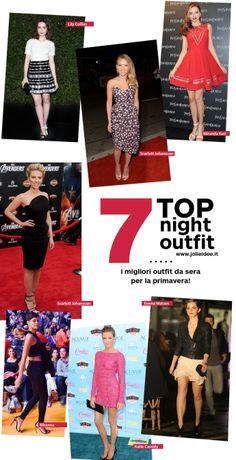 Outfit da Sera Primavera 2014 - 7 Look delle Star da copiare #outfit #moda #fashion #style