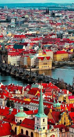 Courtesy of Admins: 📍Prague, Czech Republic 🇨🇿 Tag your best travel photos with 🌌 Good Deeds Good Vibes 🌌 Self-Help Ebook 📑 -. Napoleon Hill, Travel Pictures, Travel Photos, Transformers, Prague Czech Republic, Prague Castle, Red Roof, Wonderful Picture, Wonderful Places
