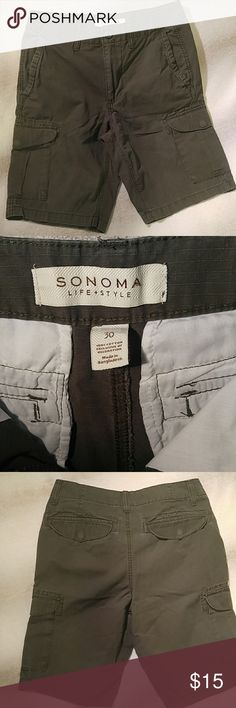 Sonoma Cargo Shorts These are practically new. My son wasn't a fan of cargo shorts at the time of purchase.   These are great shorts for your scout too! Sonoma Shorts Cargo