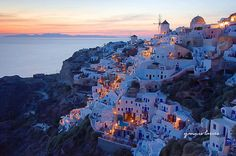 Santorini, Greece.  I miss the food, sunsets and amazing city!!