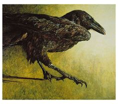Jamie Wyeth Raven