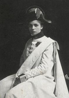 Maude Adams as Duke of Reichstadt in L'Aiglon,...