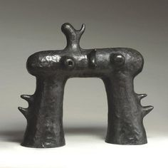 Joan Miró Bronze Sculpture by JKLFA, via Flickr