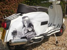 Creative FX Lambretta and Vespa panel wraps www.fxuk.net
