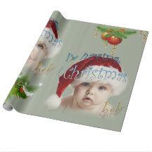 Christmas Baby Wrapping Paper