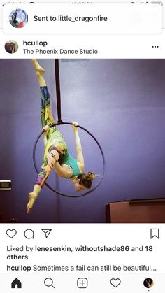 Lyra Aerial, Aerial Hoop, Pole Fitness, Plant Hanger, Fitness Inspiration, Pilates, Gym, Poses, Workout