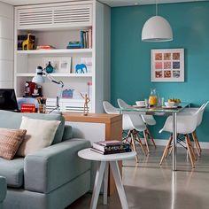 Quem passou no blog hoje viu a matéria sobre o uso do azul tiffany na decoração da casa!  Dicas e inspirações para quem ama essa cor e quer encher a casa de vida! Passa lá! #newpost .  www.casacasada.com