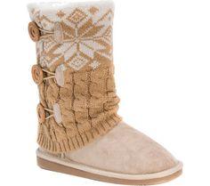 Womens MUK LUKS Cheryl Sweater Boot - FREE Shipping & Exchanges | Shoebuy.com