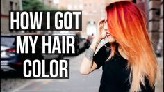 HOW I GOT MY CURRENT HAIR COLOR!  | Le Happy x Aveda