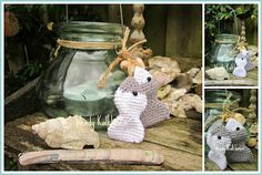 Crocheted Fishies / Holiday - Handmade By Wendy
