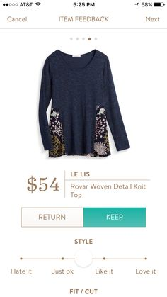 Might be cute  Interested in a personal stylist? Try stitch fix, where they look at your style interests to tailor a box just for you! Click my referral link below: stitchfix.com/referral/5006859