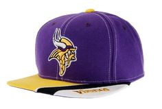 c59040695cb713 Compare prices on Minnesota Vikings Snapback Hats from top sports gear  retailers.