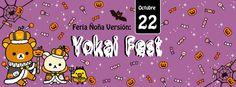 Evento: Feria Ñoña: Yokai Fest 2016    Fechas: 22 de Octubre 2016   Lugar: Cascada Parque Ecuador Concepcion  victor lamas, Concepción  ...