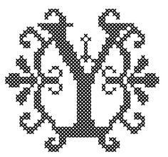 This counted cross stitch pattern is designed on 14 count Aida, design size is approx. 3.1 x 2.9. Pattern is available for immediate download as a PDF file shown in color blocks and symbols with floss list, pattern details and basic cross stitch instructions.