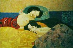 Французская художница. Myrtille Henrion Picco