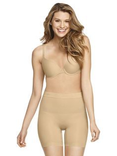 Jockey Nude Seamless Shaping Shorts Shapewear