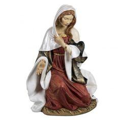 María 180 cm. resina Fontanini | venta online en HOLYART Madonna, Christmas Nativity, Statue, Princess Zelda, Costumes, Fontanini, Belem, Terracotta, Santa