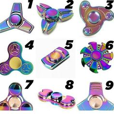 Which spinner do you like the most?