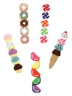 Sweet Treat Bookmarks Pattern Pack