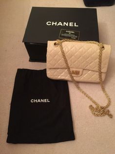 3c38d47c499e Chanel nude beige patent reissue bag in Clothes