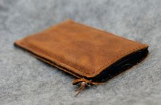 Galaxy Note 4 Organic Leather Sleeve/Case |RUM DIARY | http://etsy.me/YbjSjc | #Note4Sleeve #Note4Case #Note4Cover #Note4Bag #Note4Leather