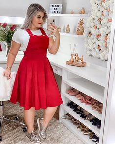 Curvy Outfits, Modest Outfits, Plus Size Outfits, Cool Outfits, Casual Outfits, African Traditional Dresses, Looks Plus Size, Plus Size Girls, Simple Dresses