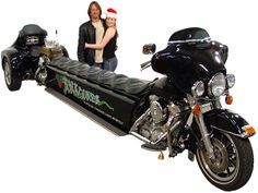 motorcycle anaconda - Is that a beer tap on the back?
