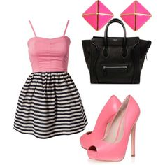 Feel Pink by giny9608 on Polyvore