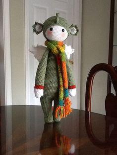 DIRK the dragon made by joeknittedit / crochet pattern by lalylala