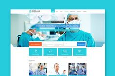 Medico - Medical HTML Template by ThemeShop on @creativemarket