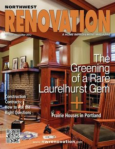 Our House Renovation is in a Magazine! Our main floor renovation appears in the October/ November 2012 issue of Northwest Renovation magazine. Very exciting!