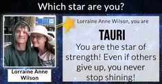 Which star are you?