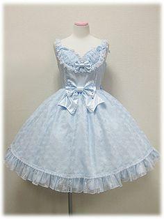 angelic pretty レーシィバレリーナジャンパースカート