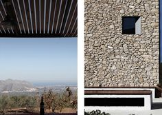 MADE | Weekend pavillion · Industrial Design + Architecture - Borja Garcia            #design #architecture #minimal #nature #porch #stones #wall  #refuge