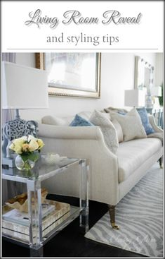 Living room decor coffee table styling | Classy Glam Living | coffee ...