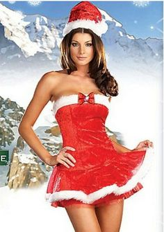 Aliexpress.com : Buy 2013 New Sexy Christmas Costumes Dress For Women, christmas Outfits adult christmas, New Year's Suit Party XM010 from Reliable dress women suppliers on C & F Halloween Fashion Store $20.59