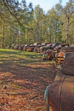 RUSTY OLD CARS AND TRUCKS 2 by pjwuebker