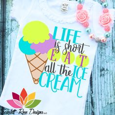 inktastic I Exercise My Rights to Eat Ice Cream with Waffle Cones Baby T-Shirt