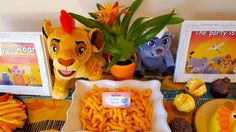 Constance's Lion King 1st Birthday Party | CatchMyParty.com