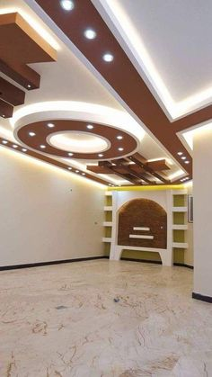 Top 40 Modern False Ceiling Design Ideas of - Engineering Discoveries Drawing Room Ceiling Design, Simple False Ceiling Design, Plaster Ceiling Design, Gypsum Ceiling Design, Interior Ceiling Design, House Ceiling Design, Ceiling Design Living Room, Bedroom False Ceiling Design, Home Ceiling