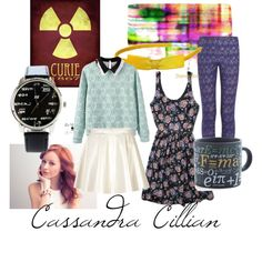 Cassandra Cillian- The Librarians by ezmeerose on Polyvore featuring polyvore, fashion, style, Parvez Taj, Abercrombie & Fitch, Neil Barrett, Missoni and Elodie