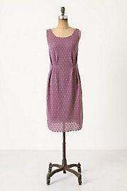 Lilac Lace Dress from Anthropologie