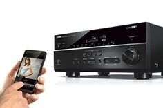 Yamaha RX-V681BL 7.1-Channel Multi-Zone Network A/V Receiver with Bluetooth, Wi-Fi and Dolby Atmos: Amazon.ca: Electronics